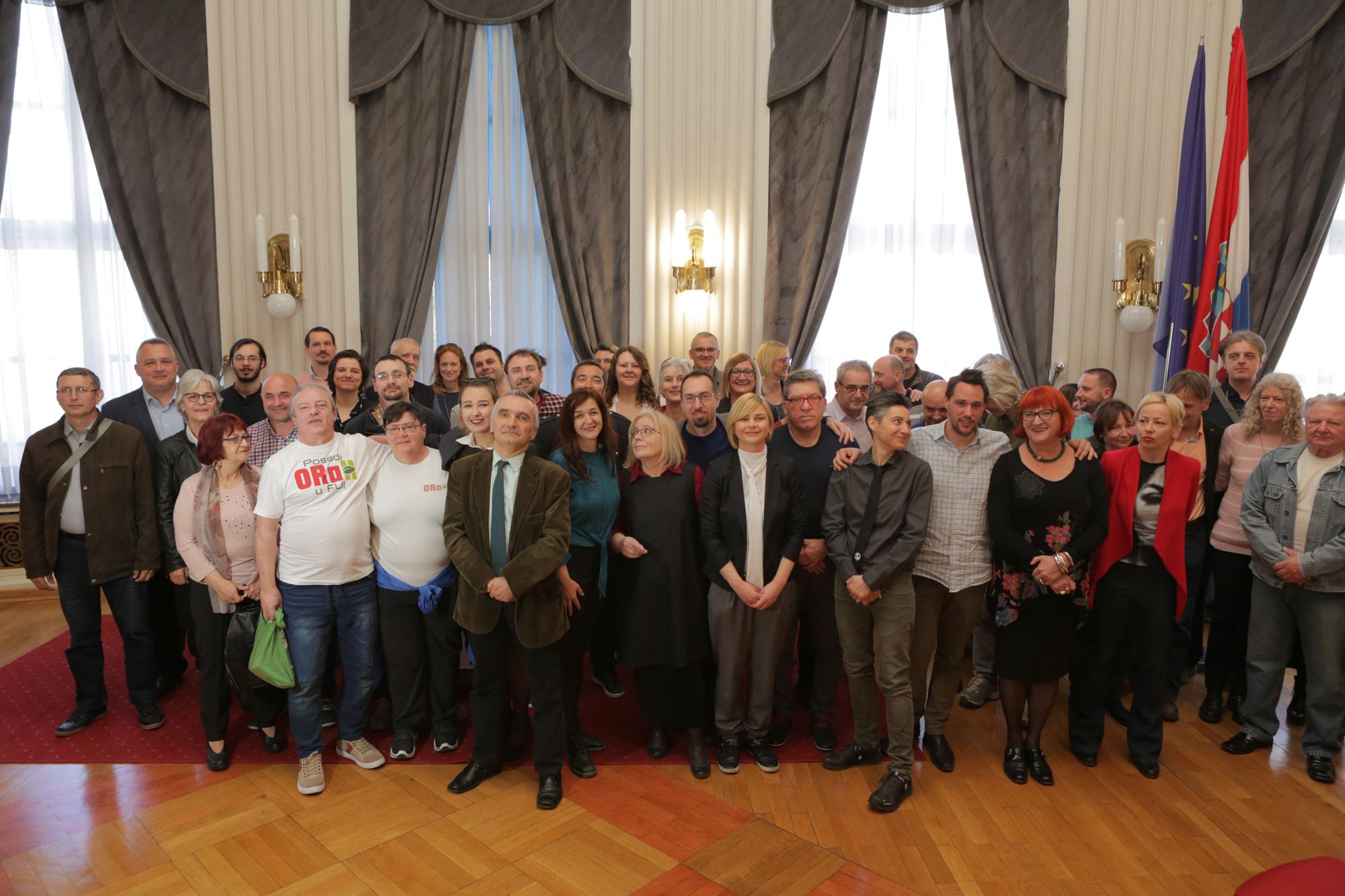 Predstavljena koalicijska lista i program političke platforme Možemo!, Nove ljevice i ORaH-a