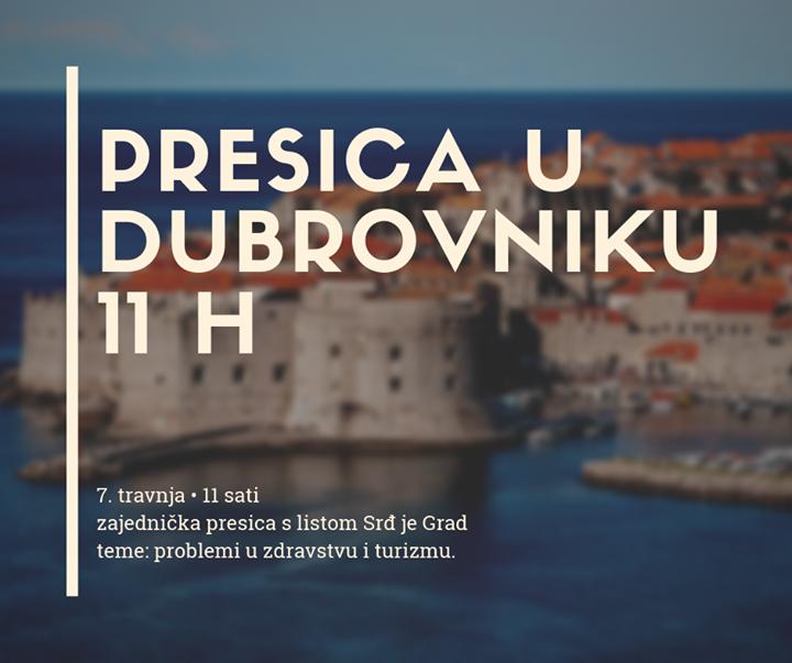 Pratite u 11 sati naše javljanje iz Dubrovnika sa…