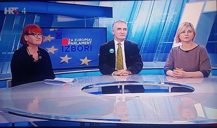Koaliciju zelene ljevice jutros su za HRT4 predsta…