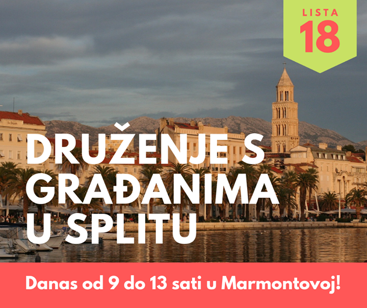 Vidimo se danas u Splitu!…