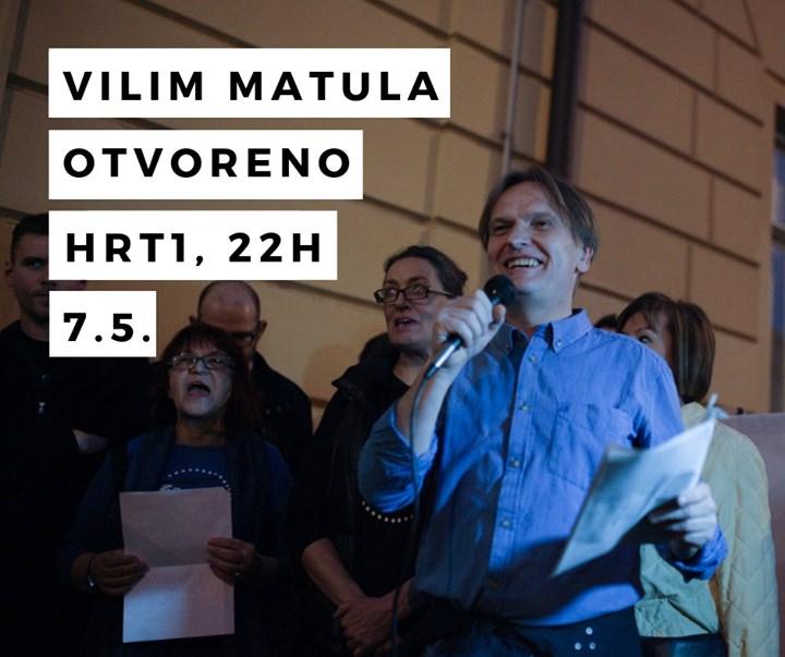 Uoči Dana oslobođenja Zagreba naš Vilim Matula,…