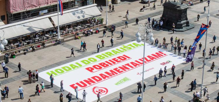 Hodaj do birališta, pobijedi fundamentalizam!