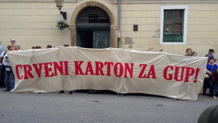 Jutros smo bili na prosvjedu građana koji su glas…