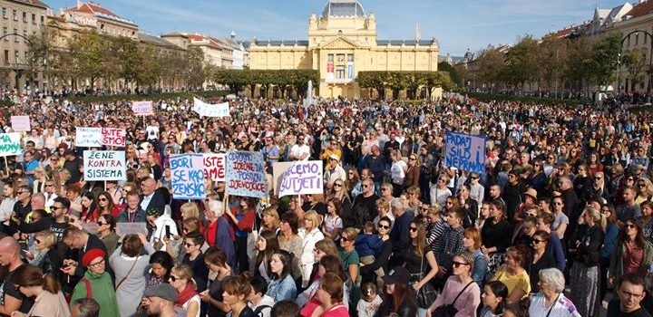 """Danas smo bili na Prosvjed """"Pravda za djevojčice!…"""