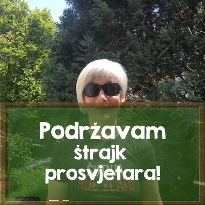 Naša Nives Miošić o štrajku prosvjetara:  Prij…