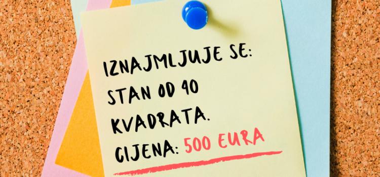Gradovi diljem Europe reguliraju tržište najma- može li i Hrvatska?