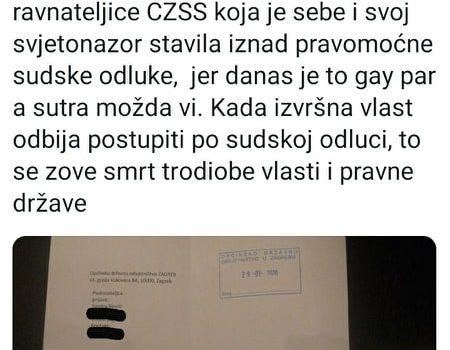 Naša Sandra Benčić podnijela je kaznenu prijavu…