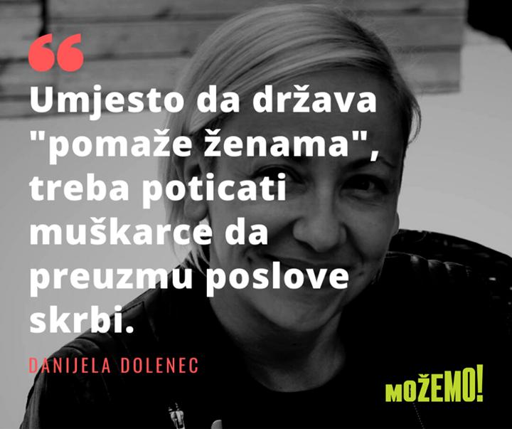 Naša Danijela Dolenec u izjavi za portal H-Alter …