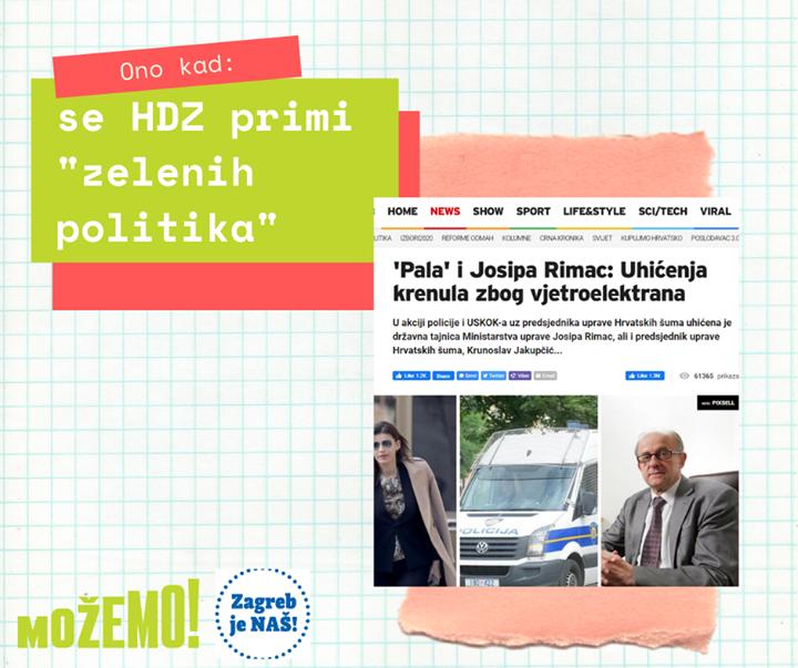 Očuvanje planete za HDZ – Hrvatska demokratska za…