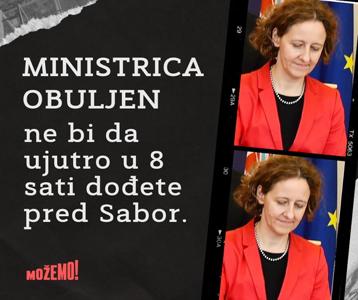 Odgovorite ministrici! https://www.index.hr/vijest…
