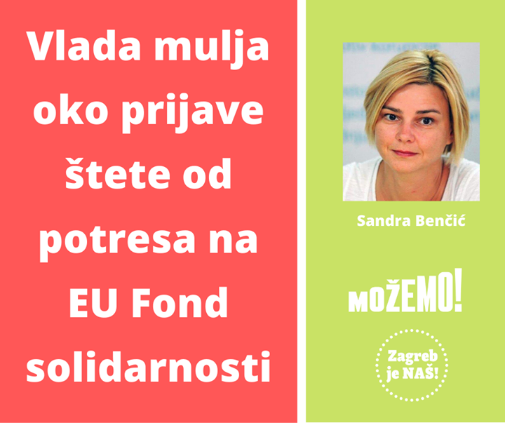 Naša Sandra Benčić: Sjećate se kako je Vlada R…