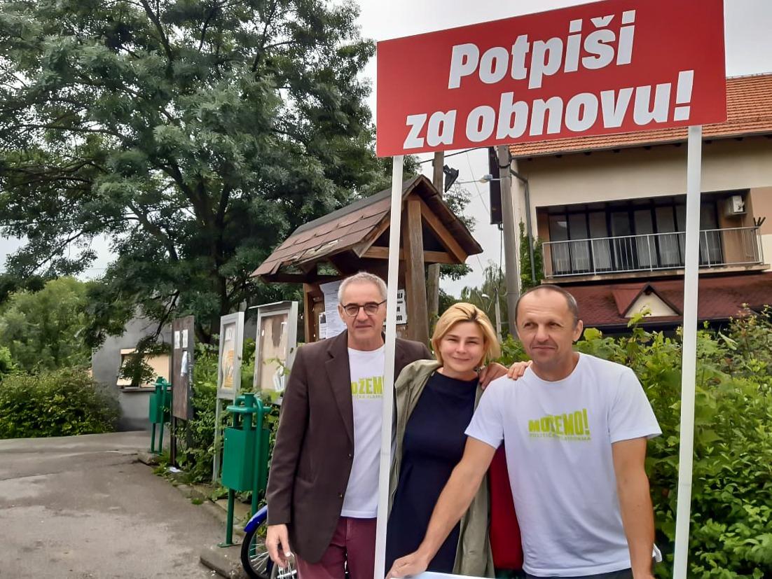Danas i u Markuševcu