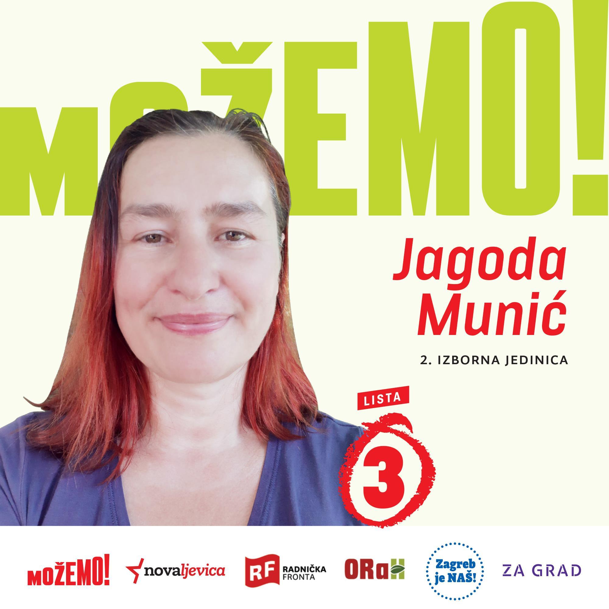 Predstavljamo Jagodu Munić