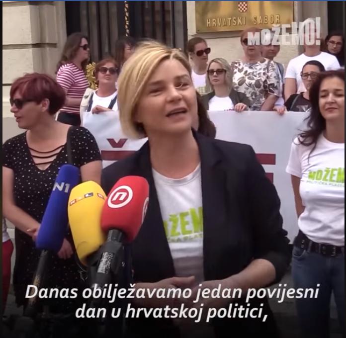 Sandra Benčić: Imamo 6 žena na vrhu naših listi