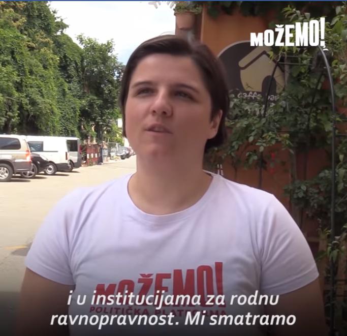 Jelena Miloš: Nema društvene jednakosti bez ravnopravnosti žena