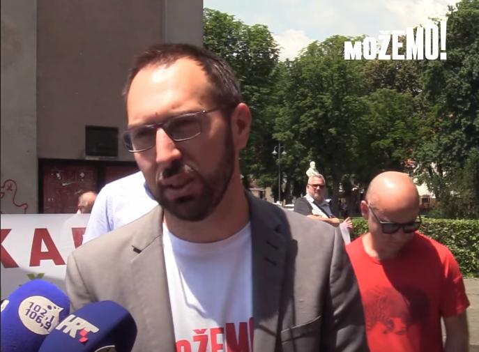"""Tomislav Tomašević: """"Šest stranaka, lista broj 3 i jedan cilj"""""""