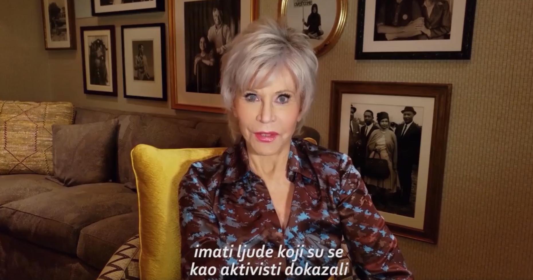 Podrška Jane Fonde