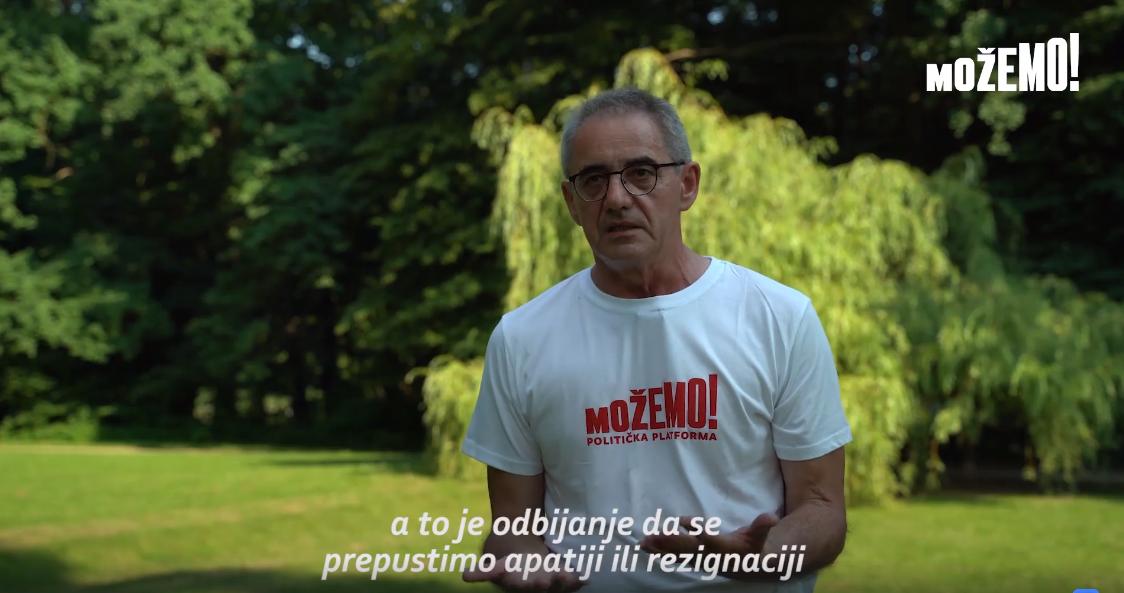 Damir Bakić vas poziva da izađete na izbore