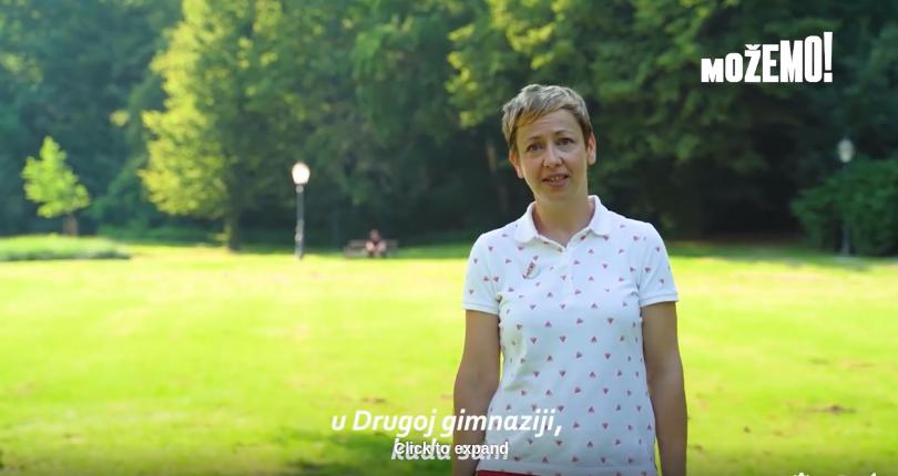Danijela Dolenec nas poziva da izađemo na izbore!