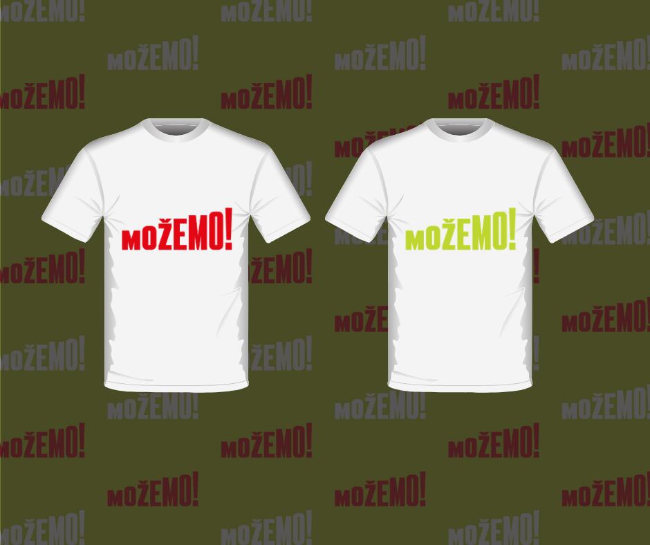 Kako printati svoju Možemo! majicu? :)