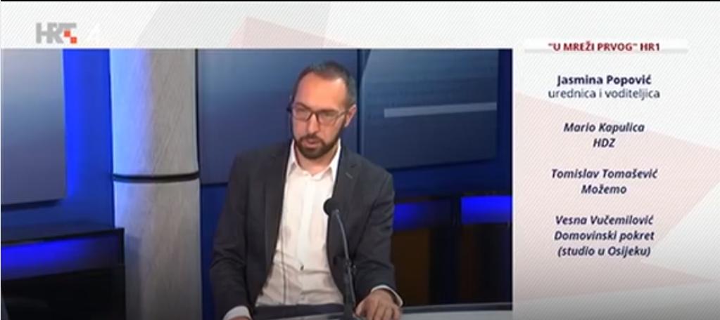 Tomašević: HDZ-ove afere rastavljat ćemo na atome pred hrvatskom javnosti