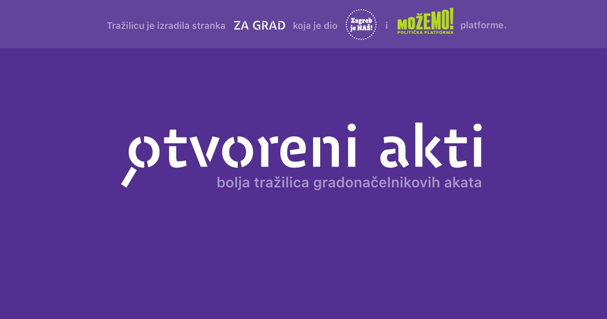Za transparentniji Split i Zagreb!