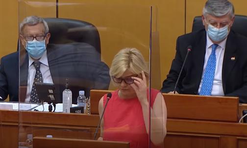 Sandra Benčić o snimanju postupanja policije