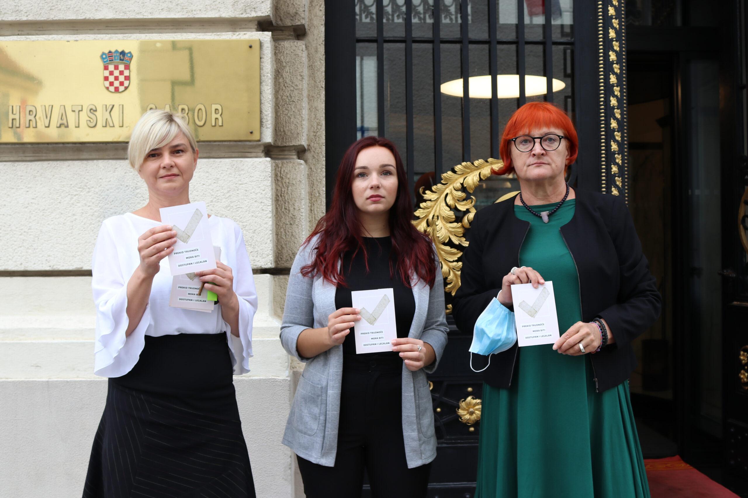 Benčić: Nećemo dozvoliti nametanje obveze savjetovanja prije pobačaja