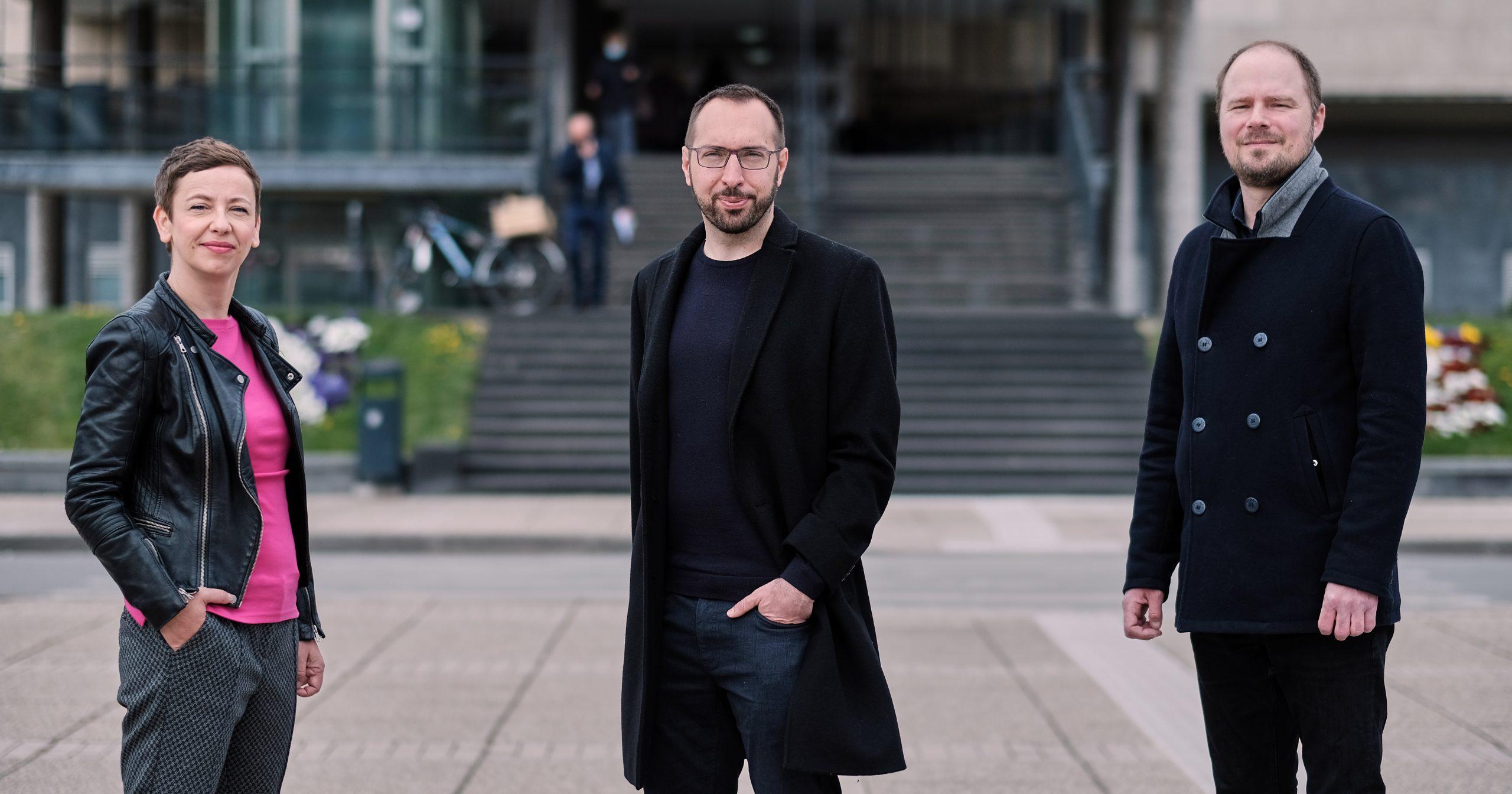 Danijela Dolenec i Luka Korlaet su Tomaševićevi kandidati za zamjenicu i zamjenika gradonačelnika